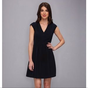 "Rebecca Taylor ""Taylor"" Fit & Flare Knit Dress"